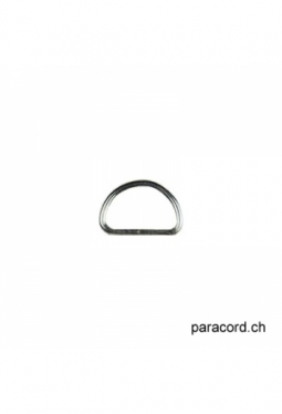D-Ring 13mm silver