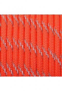 550 Paracord Reflective Neon Orange
