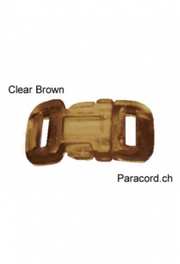 MidClip Clear Brown