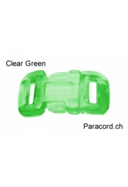 MidClip Clear Green