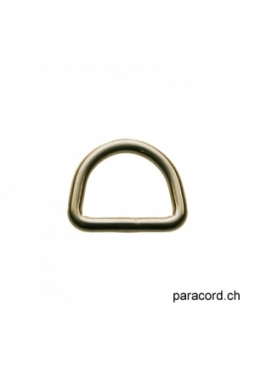 D-Ring 21mm silver