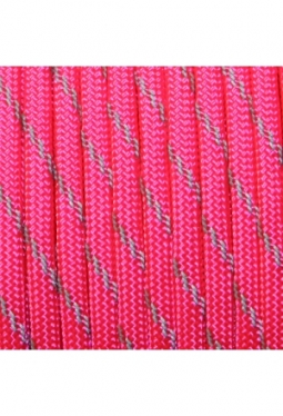 550 Paracord Reflective Neon Pink
