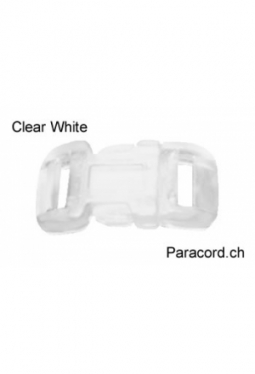 MidClip Clear White